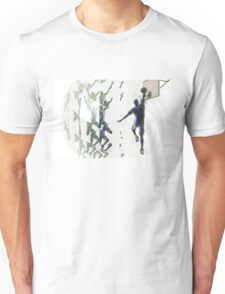 Light bending refraction basketball Unisex T-Shirt