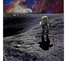 Space Man Photographic Print