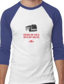 Riding on the 6 Men's Baseball ¾ T-Shirt