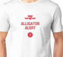 ALLIGATOR ALERT Unisex T-Shirt