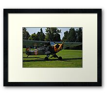 Unidentified Plane Framed Print