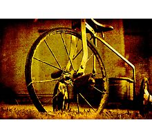 on ya bike Photographic Print