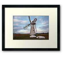 Thurne Mill, Norfolk, UK 2 Framed Print