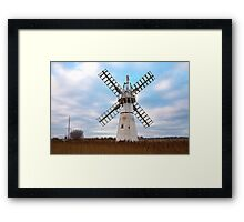 Thurne Mill, Norfolk, UK 4 Framed Print