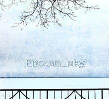 Frozen sky by Olga