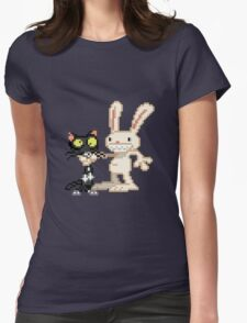Sam & Max #03 Womens Fitted T-Shirt