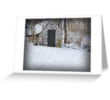 Winter's Snow Greeting Card