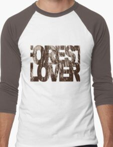 forest lover Men's Baseball ¾ T-Shirt