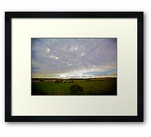 French Countryside I Framed Print
