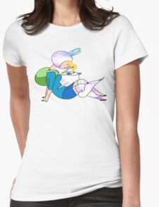 Fionna and Cake Womens Fitted T-Shirt