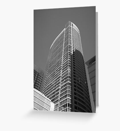 Chicago Skyscraper Greeting Card