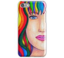 Colors of the World [MixMedia Artwork] iPhone Case/Skin