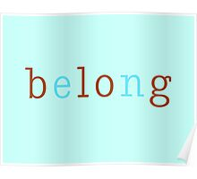 Belong/Blog 2 Poster