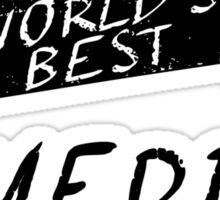 World's Best Comedian Sticker