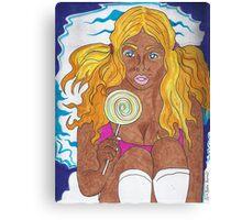 Chocolate Barbie Canvas Print