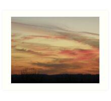 Sunset in the Gap Art Print