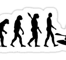 Evolution Kayak Sticker
