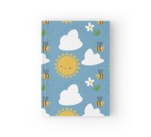 Sunshine and Bees Hardcover Journal