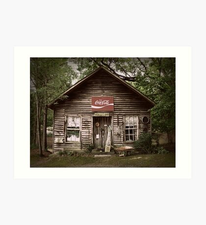 The old Storehouse at Murrays Mill Art Print