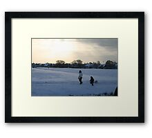 Let it snow. Let it snow! Framed Print