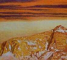 Mount Everest -Tibetan view by Murray Lancaster