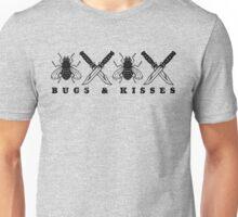 Bugs & Kisses (Prints Black) Unisex T-Shirt