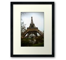 Eiffel Tower from Below  Framed Print