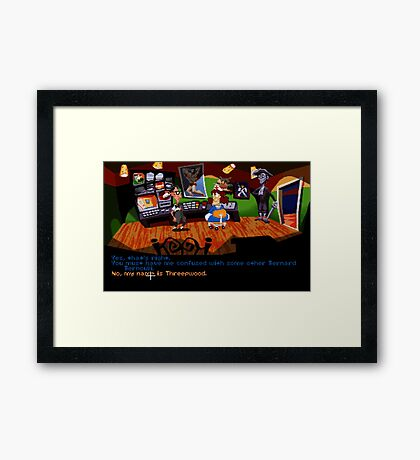 Maniac Mansion - Day of the Tentacle #01 Framed Print