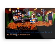 Maniac Mansion - Day of the Tentacle #01 Metal Print