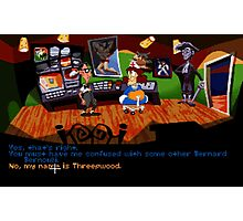 Maniac Mansion - Day of the Tentacle #01 Photographic Print