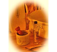 """""""Mornin' Cowboy! (amber version)""""... prints and products Photographic Print"""