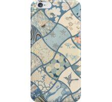 Origami Paper - Blue iPhone Case/Skin