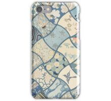 Origami Paper - Blue iPhone Case/Skin
