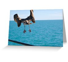 Takeoff and Bon Voyage Greeting Card