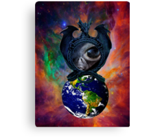 Alien Intervention Canvas Print