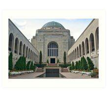 Australian War Memorial, Canberra Art Print