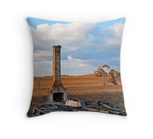 Huff and Puff 2 Throw Pillow