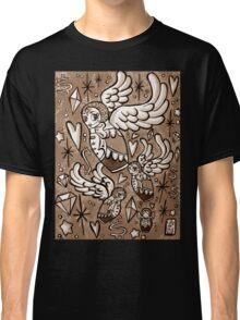 (Sepia) Wings of Desire Classic T-Shirt