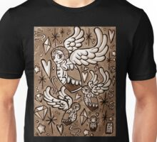 (Sepia) Wings of Desire Unisex T-Shirt