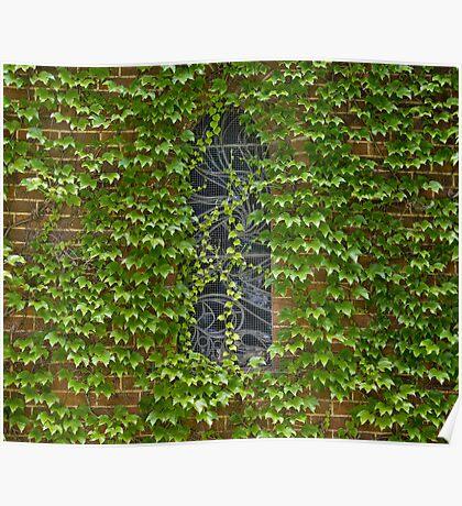 Lost Windows 1 - Gostwyck Chapel - Spring Poster