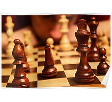 Self Portrait - Chess Poster