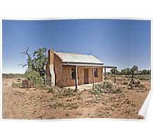 Abandoned Cottage Silverton Poster
