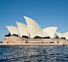 Sydney Opera House - Water View by clearviewstock