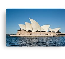 Sydney Opera House - Water View Canvas Print