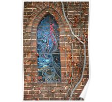 Gostwyck Chapel Window - Autumn Poster