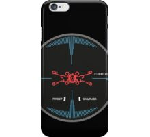 STAR WARS TARGET SKYWALKER iPhone Case/Skin