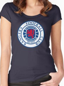 Glasgow Rangers Retro Women's Fitted Scoop T-Shirt