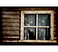 Old forgotten window Photographic Print