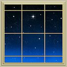 Space beyond the window by clearviewstock