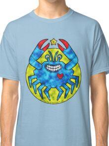 Blue Crab (Clouds) Classic T-Shirt